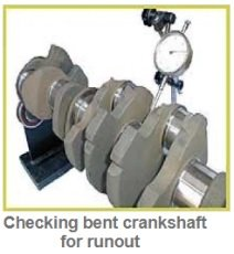 Bent crankshaft diagnostic & causes