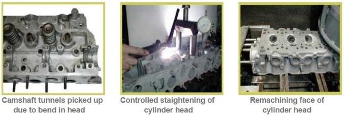 Bent cylinder head diagnostic & causes