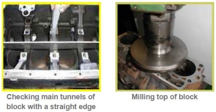 Bent, misaligned or warped block diagnostic & causes