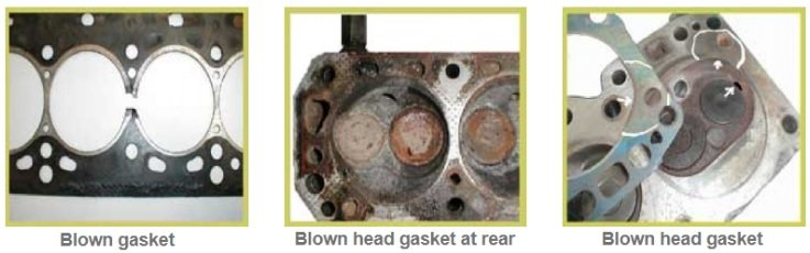 Blown cylinder head, gasket diagnostic & causes