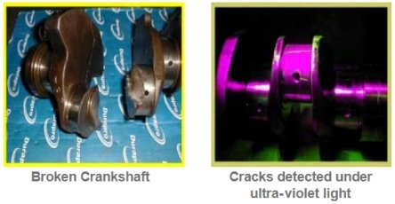 Broken crankshaft diagnostic & causes
